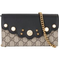 Gucci Peony 珍珠鍊帶包