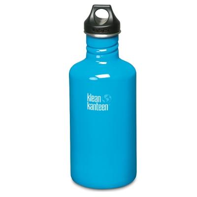 美國Klean Kanteen不鏽鋼瓶1900ml-島嶼藍