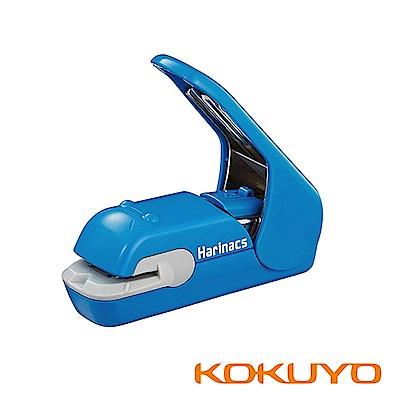 KOKUYO 無針訂書機美壓版5枚紙用-天藍
