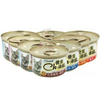 Cherish 養生湯罐 80g  72入
