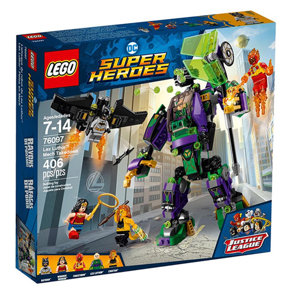 LEGO樂高 超級英雄系列 76097 正義聯盟 雷克斯路瑟的機甲強襲