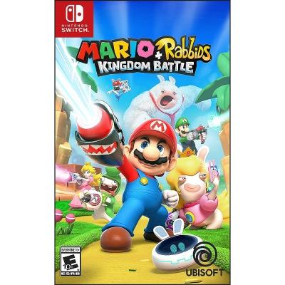 瑪利歐 + 瘋狂兔子 王國之戰 英文版(支援中文) Nintendo Switch