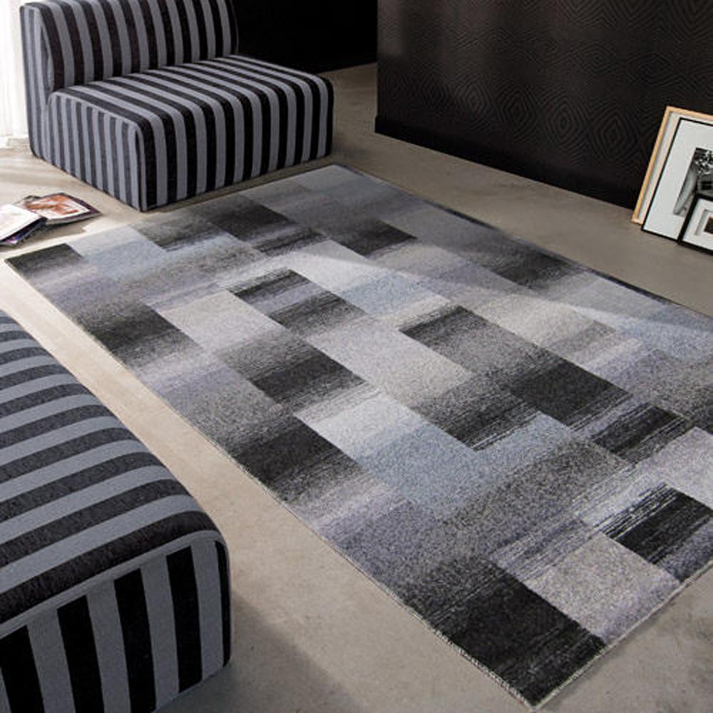 范登伯格 - 雪菲爾 進口地毯- (灰藍色) (小款-100x150cm)
