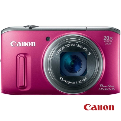 Canon PowerShot SX260 HS 桃紅 福利品