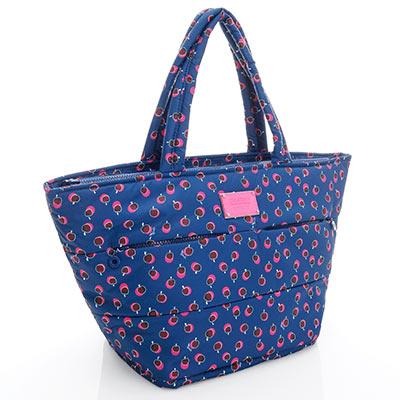 VOVAROVA空氣包-雙口袋手提托特包-我的小蘋果(富士紅)-法國設計系列