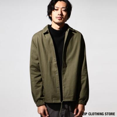 寬版教練夾克 日本男裝