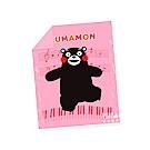 享夢城堡 單人涼被4x5-酷MA萌KUMAMON熊本熊 音樂會-粉