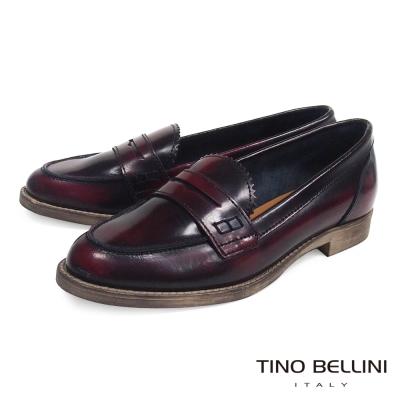 Tino-Bellini-義大利經典品味真皮樂福鞋