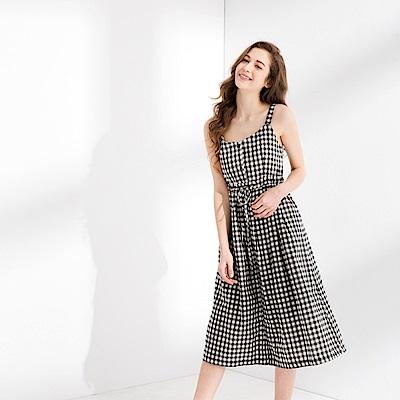 CACO-清新小格背心洋裝(三色)-女【PSH095】