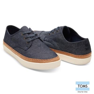 TOMS 牛仔帆布休閒鞋-男款