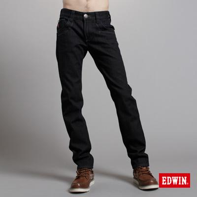 【EDWIN】大尺碼 B.T W.F中直筒保溫褲-男款(原藍色)