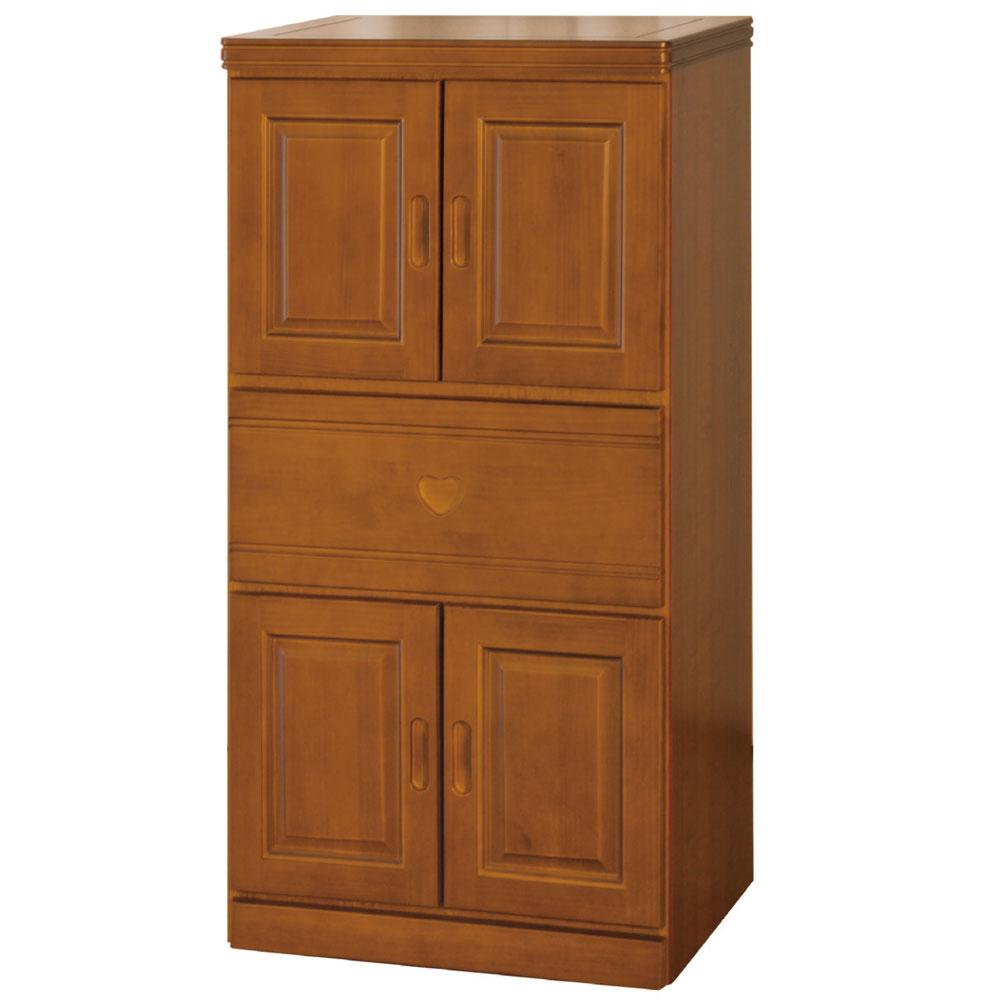 品家居 幸萊克樟木色2x4尺收納餐櫃