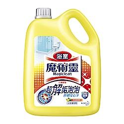 魔術靈 浴室清潔劑 舒適檸檬 量販瓶 (3800ml)