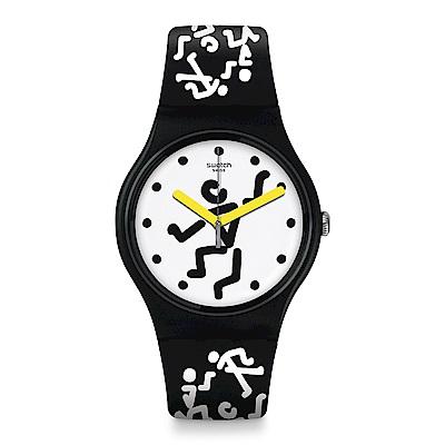 Swatch 藝術家聯名錶 ZANAKA 藝術家文青腕表手錶