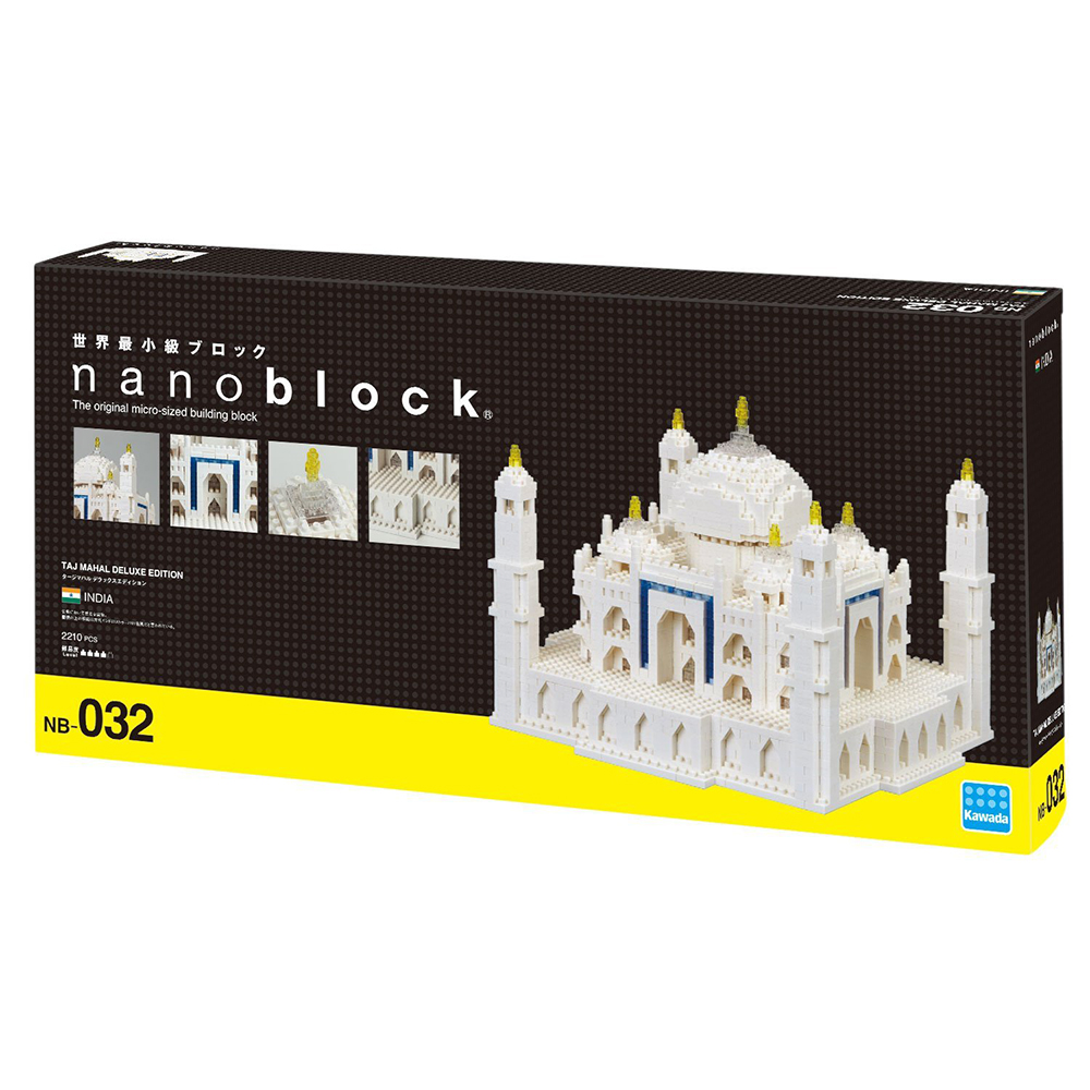 Nano Block 迷你積木 泰姬瑪哈陵NB032