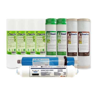 EssenPure 高品質10英吋標準型前置濾心 [一年份10支組]