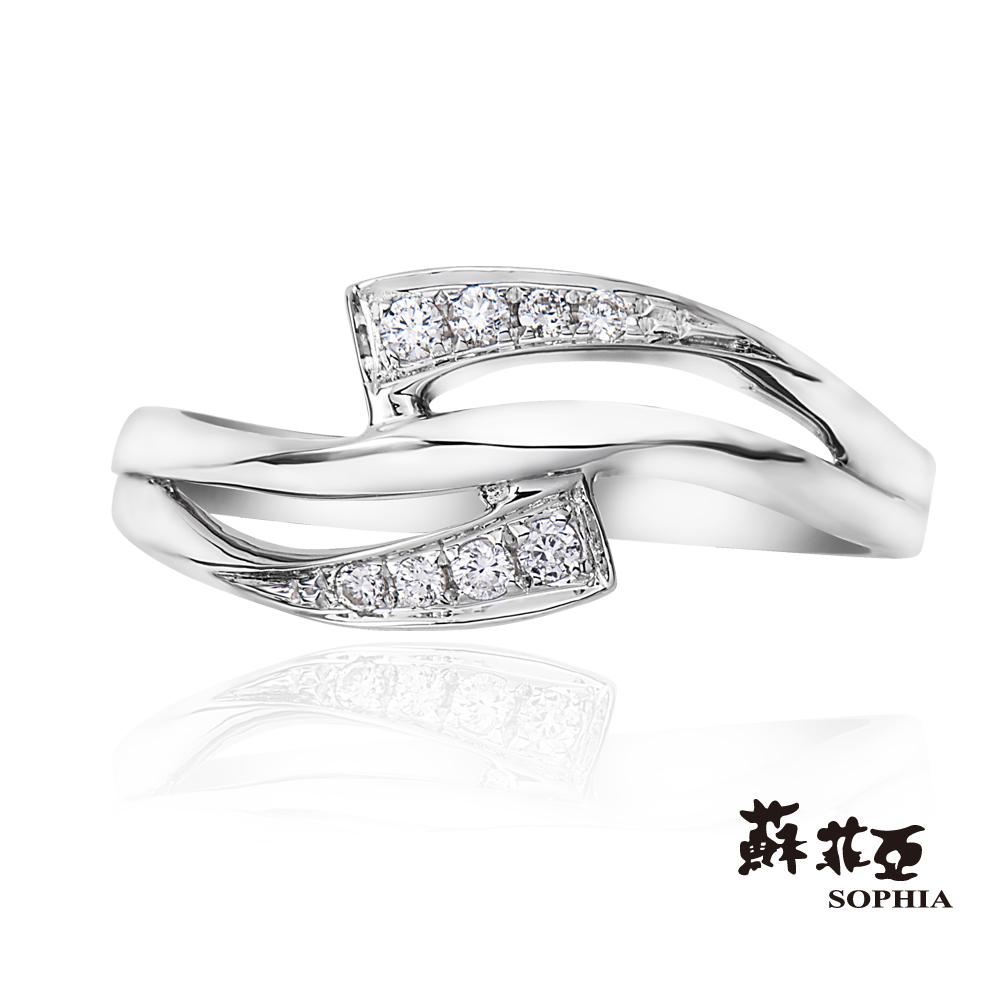 蘇菲亞SOPHIA 鑽石尾戒-蘿葳系列鑽石尾戒