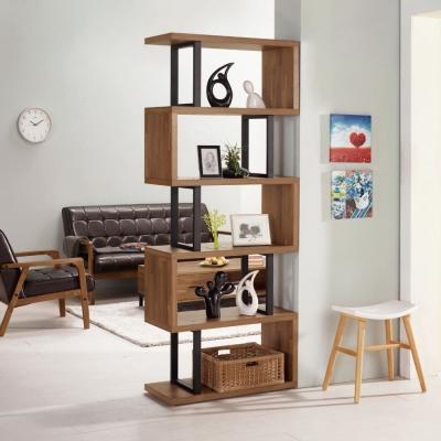品家居 羅素 2 . 7 尺展示櫃/玄關櫃(兩色可選)- 80 x 35 x 197 . 7 cm-免組
