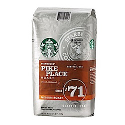 即期品 星巴克派克市場咖啡豆2入組(1.13kg)