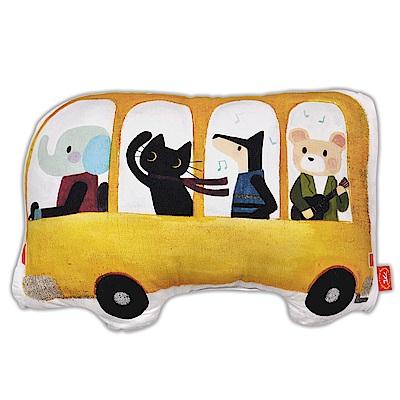 義大利Fancy Belle X Malis 一起郊遊趣 數位造型抱枕 42*31CM