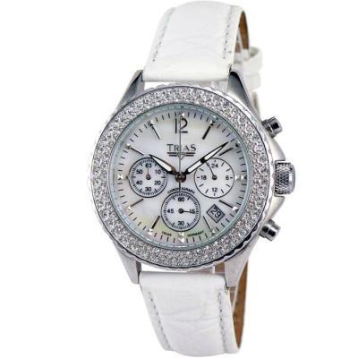 【Trias】德國Trias Lady多瑙河晶亮計時碼錶(白)