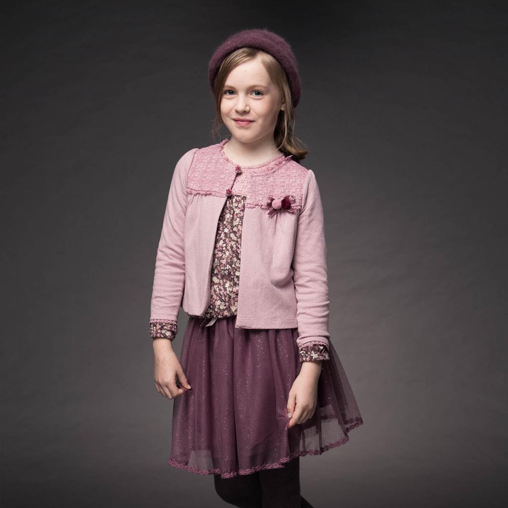PIPPY 休閒百搭刺繡外套 粉紅