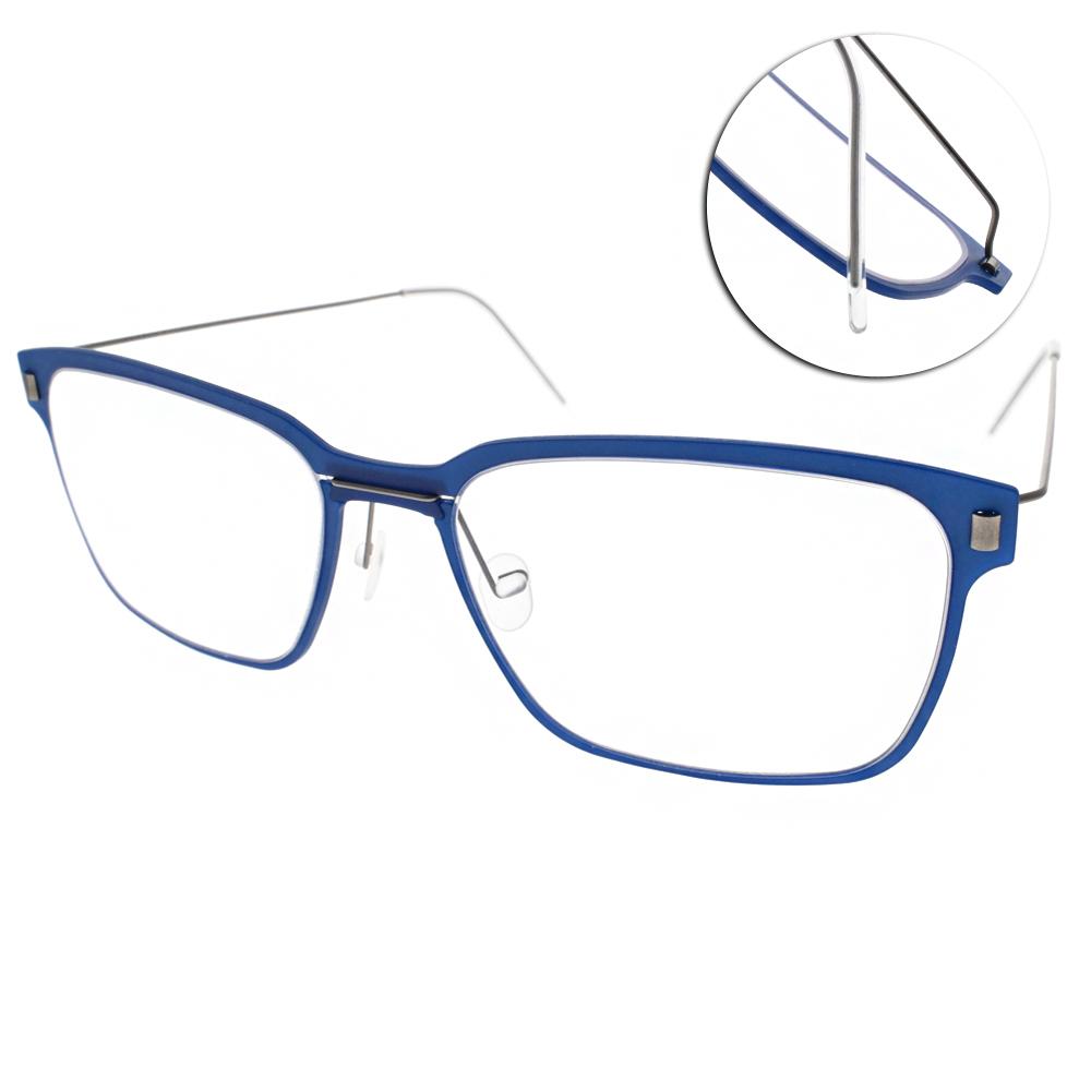 MARKUS T眼鏡 無螺絲眼鏡結構/藍-銀#M1 069 511-335