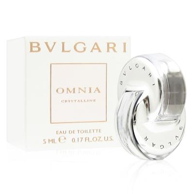 BVLGARI寶格麗 晶澈女性淡香水5ml