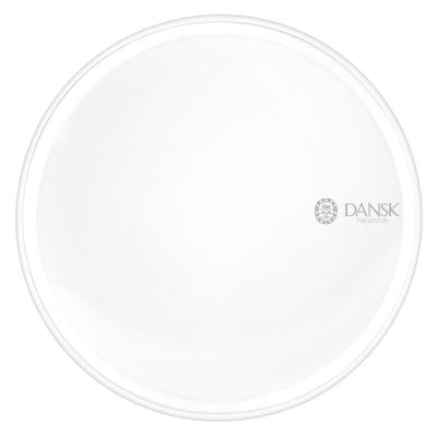 DANSK 陶瓷材質餐盤28cm-(白色)