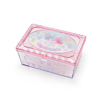 Sanrio 雙星仙子閃耀光澤小物收納盒(粉彩王國)