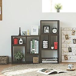 收納櫃/L型/書櫃4入組 3色