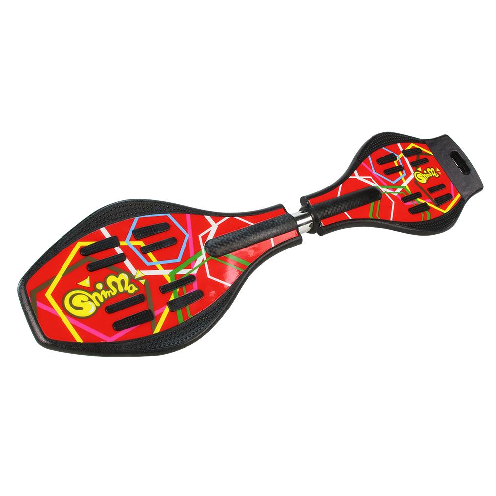 鑫瑪SHINMA 蛇板Snake Board-ABS基礎板-紅