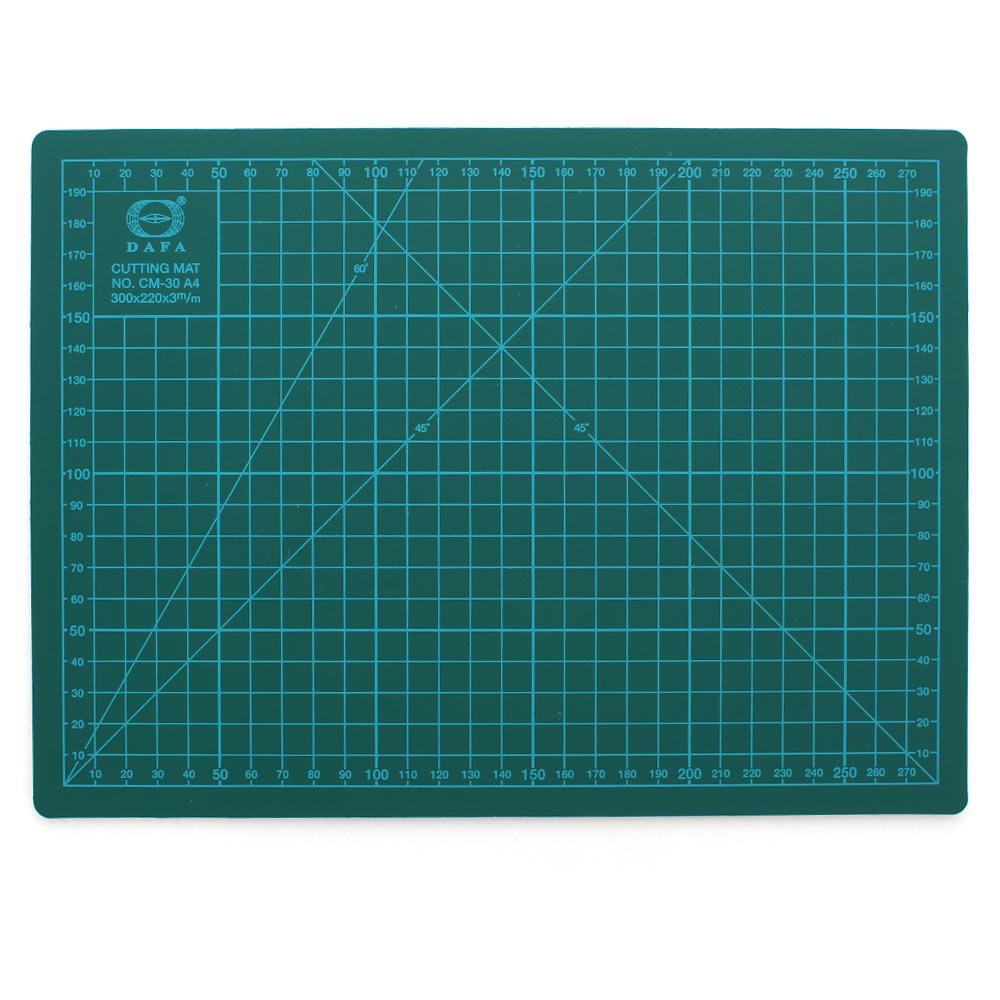 DAFA 專業A4切割墊/裁布墊300x200mm(綠)