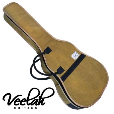 VEELAH V41-FGBR 駝黃色民謠木吉他專用袋