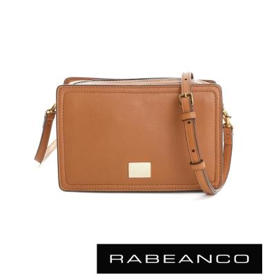 RABEANCO 心系列幸福方塊包 -奶油蘭姆酒棕