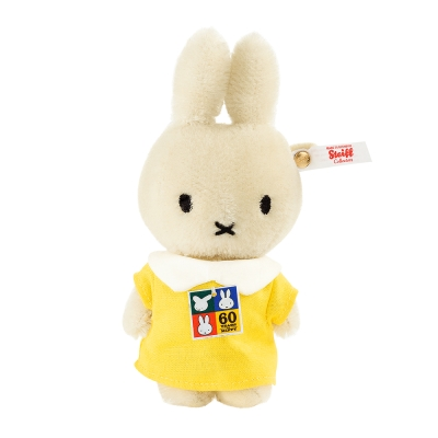 STEIFF德國金耳釦泰迪熊 - 60th Miffy 米飛兔(限量版吊飾)