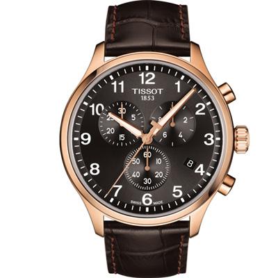 TISSOT 韻馳系列經典計時腕錶(T1166173605701)45mm
