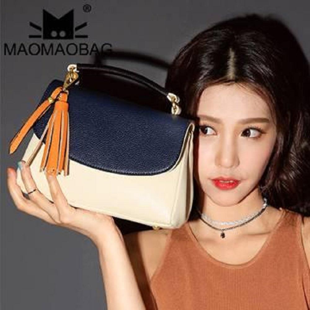 MaoMaoBag-韓版流蘇包小方包