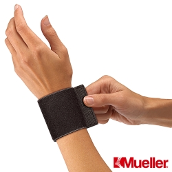 MUELLER慕樂 腕關節彈性護具 黑色(MUA961)