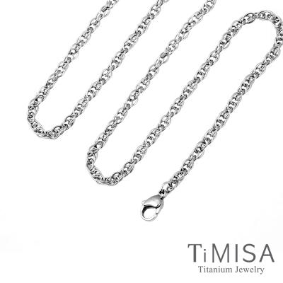 TiMISA 流星雨 細版 純鈦項鍊(H)
