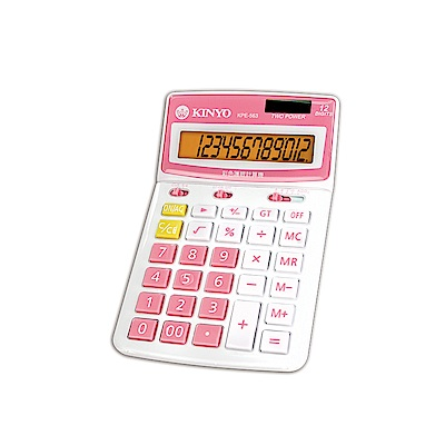 KINYO繽紛彩漾護眼計算機(KPE-563R)