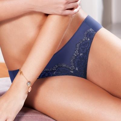 黛安芬-超值美選M-EL高腰內褲-碧海湛藍