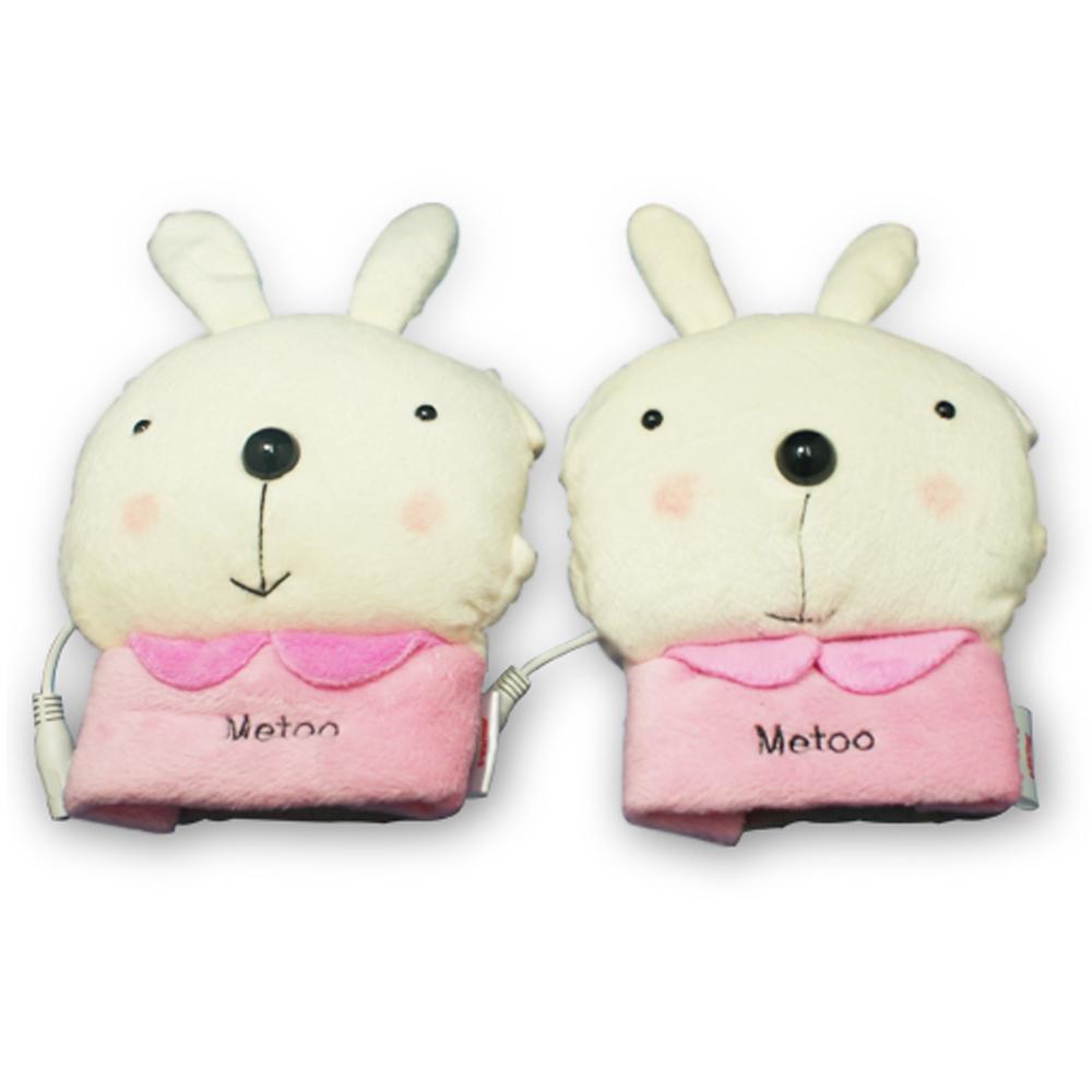 小兔兔造型USB保暖手套