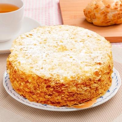 樂活e棧-生日快樂造型蛋糕-雪白戀人蛋白蛋糕(6吋/顆,共1顆)