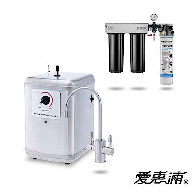 愛惠浦 公司貨 索拉利亞 瞬熱雙溫飲水設備(SOLARIA II+Trio-OW4)