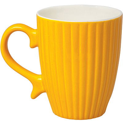 EXCELSA 新骨瓷馬克杯(橙 325 ml)