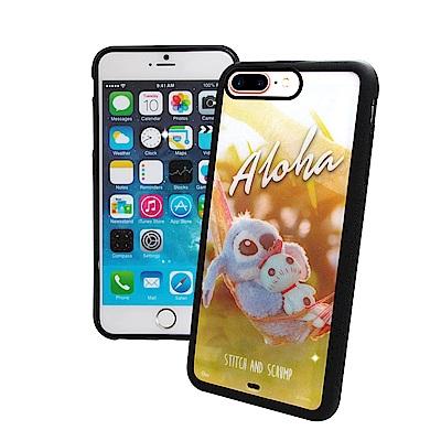 迪士尼正版 iPhone 8 / 7 Plus 史迪奇布偶版 防滑手機殼(吊床)