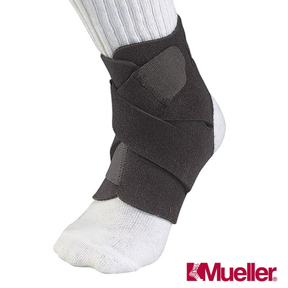MUELLER 慕樂 可調式踝關節護具長底 黑 2入 MUA4547