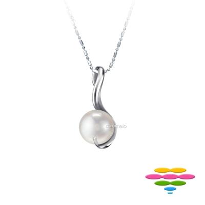 彩糖鑽工坊 日本AKOYA海水珍珠項鍊 花露Dew系列