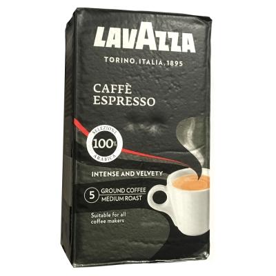 LAVAZZA Caffe Espresso 黑牌咖啡粉(鋁箔包2包)